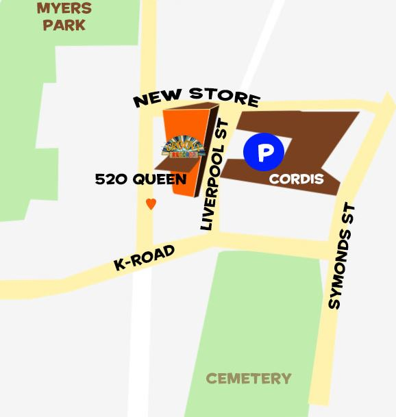 Real Groovy - Helpcentre: Where can I park at Real Groovy?